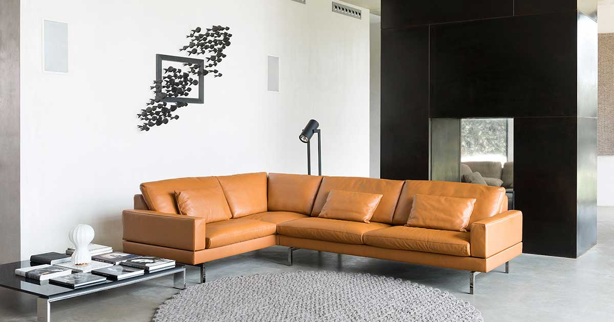 Designer couch holz  The Art of Fine Seating | Fabric & leather furniture | JORI