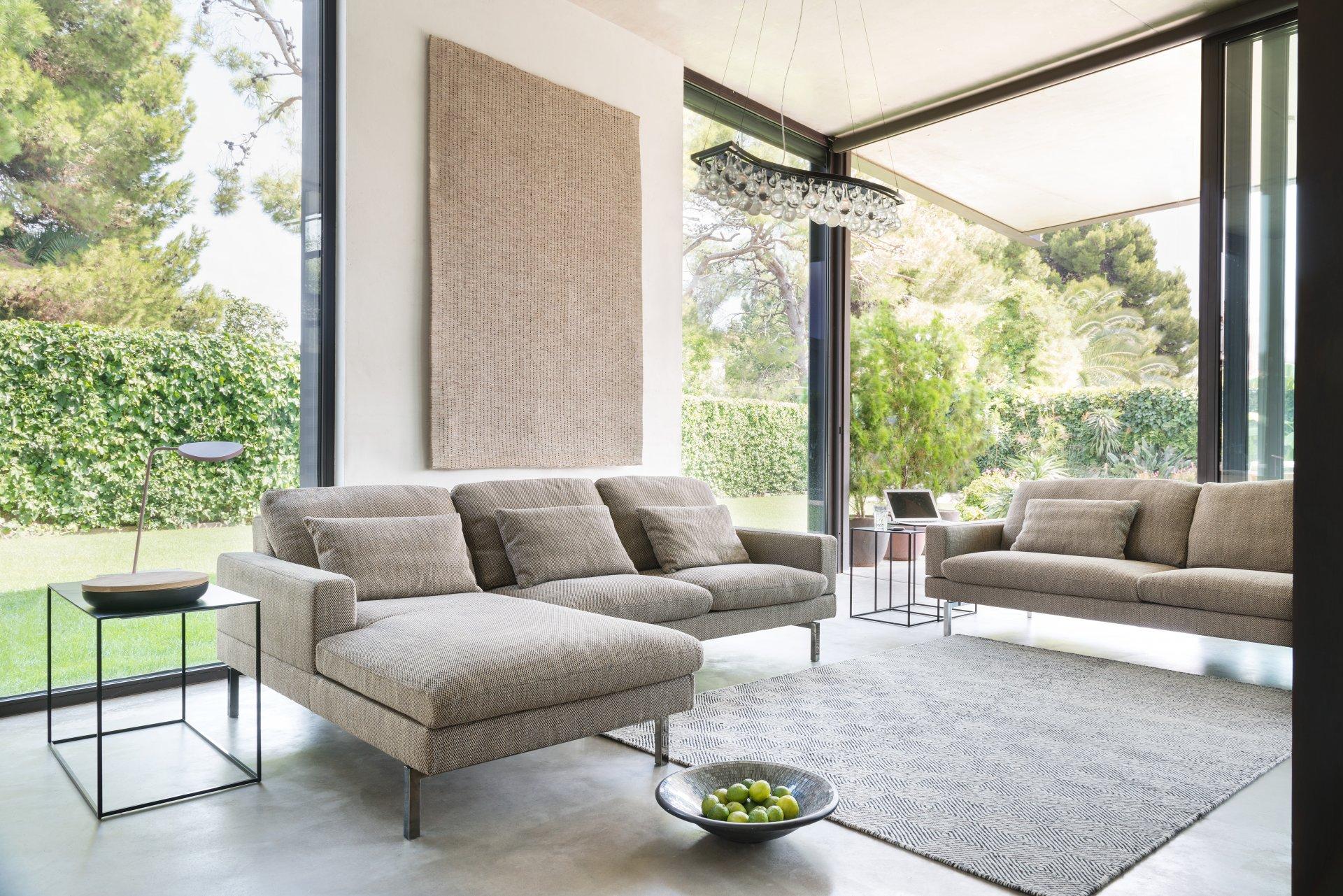 Leren Bank Jori.Tigra Open Base Sofa S Product Design Meubelen Jori