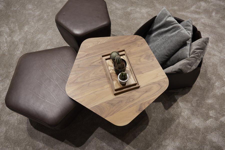 Pentagono footstool | 5 times unique | JORI