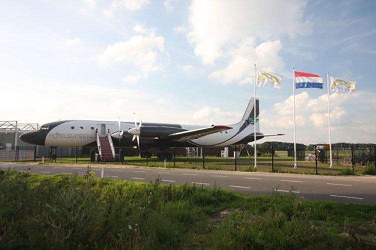 Vliegtuig-Hotelsuite Teuge