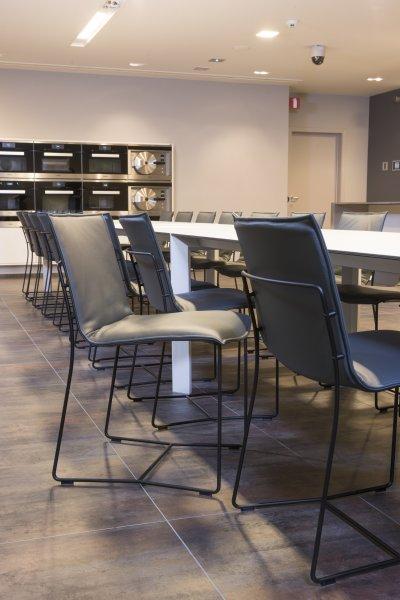 Captivating Miele Experience Center | | Project | Fabric U0026 Leather Furniture | JORI