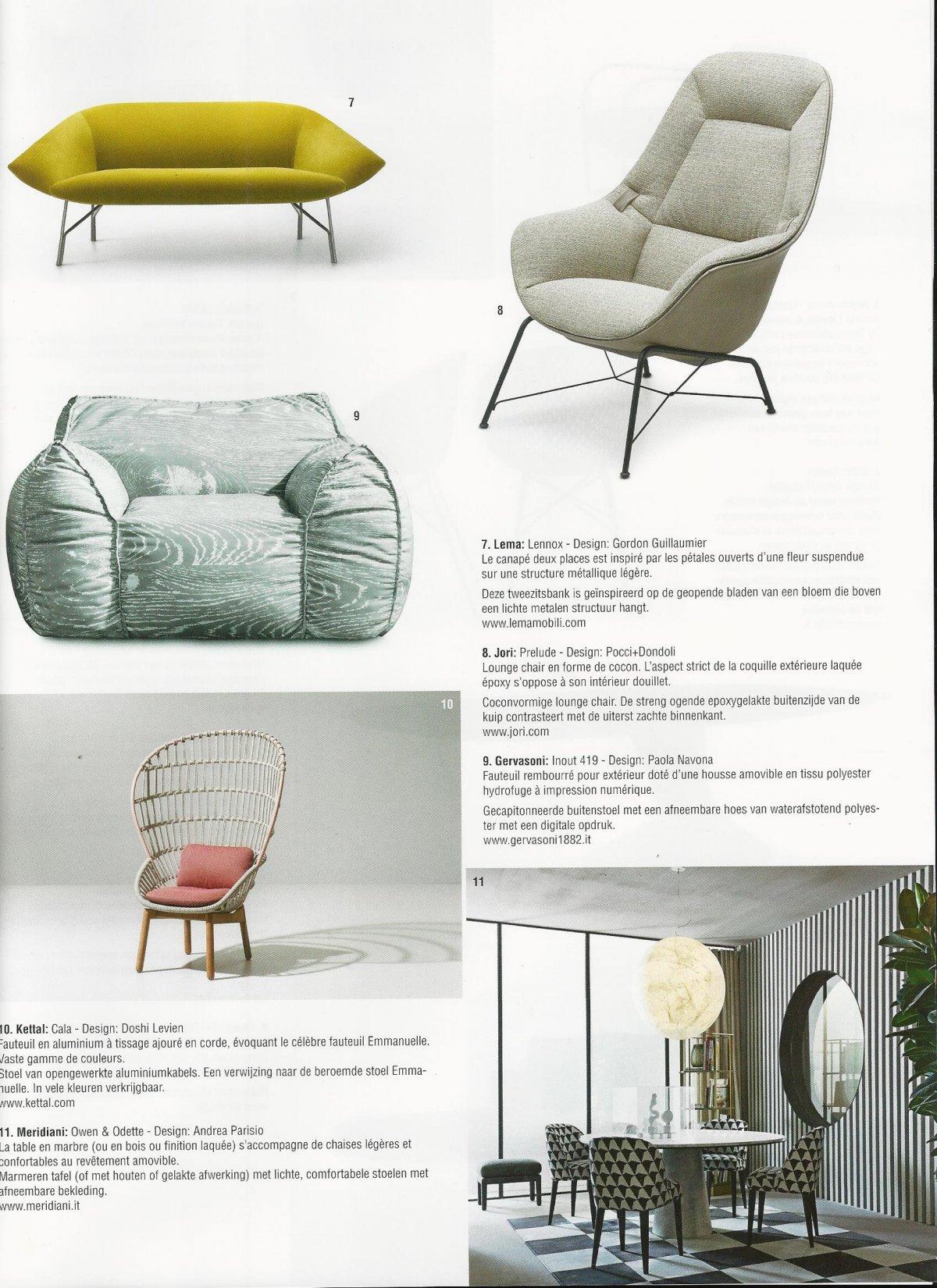 Design Fauteuil Jori.Villas Publications Design Furniture Jori