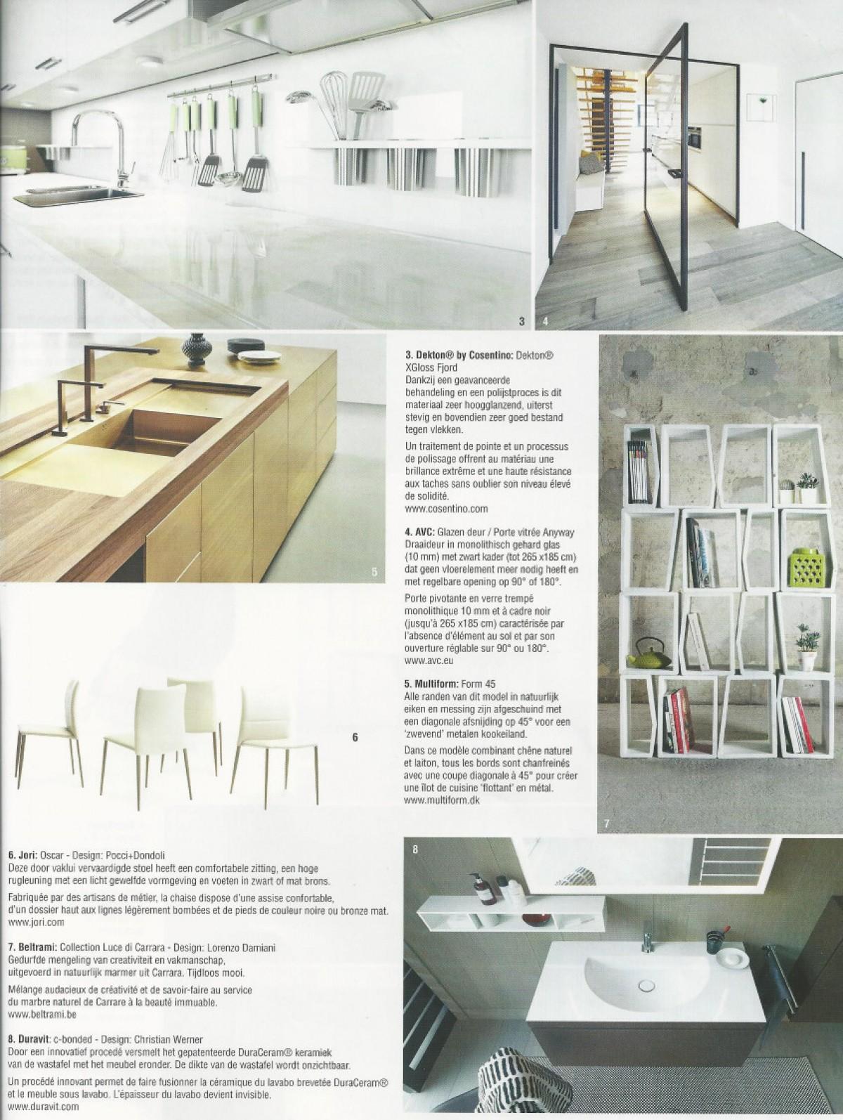 8 Zwarte Design Stoelen.Villas Publications Design Furniture Jori